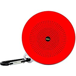 UBON Wireless Bluetooth Speaker With FM & Mini TF Card & Rechargeable Battery Support (BT-21) (Red)