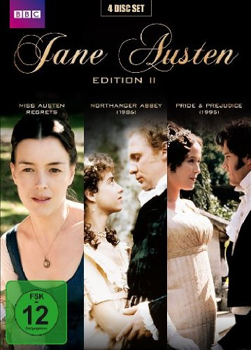 Jane Austen Edition 2: Miss Austen Regrets / Northanger Abbey / Pride & Prejudice [4 DVDs] [Deluxe Edition]