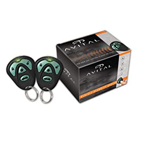 Avital 4103LXL Remote Start System with Two 4-Button Remote $42.35