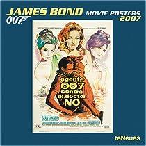 James Bond Movie Posters 2007 Calendar