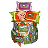 Boogie Wipes Boogie Time Diaper Cake