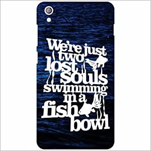 Lenovo S850 Back Cover - Lost Souls Designer Cases