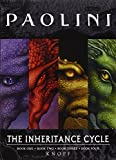 img - for Inheritance Cycle 4-Book Trade Paperback Boxed Set (Eragon, Eldest, Brisingr, Inheritance) (The Inheritance Cycle) book / textbook / text book