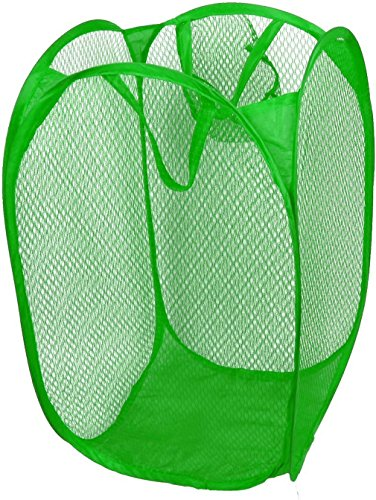 ruichy-household-dirty-clothes-laundry-folding-mesh-bag-basket-holder