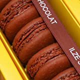 Ilze's Chocolat box of 8 Chocolate Macaroons with Dark Chocolate Buttercream
