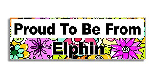 proud-to-be-from-elphin-car-sticker-sign-auto-adesivi-decal-bumper-sign-5-colours-flowers