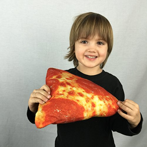 Pizza Novelty Food Throw Pillows Lifelike Designs - Super Sized - Easy to Clean
