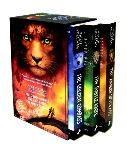 By Philip Pullman - His Dark Materials Trilogy: The Golden Compass / The Subtle Knife / The Amber Spyglass (12.2.2002)