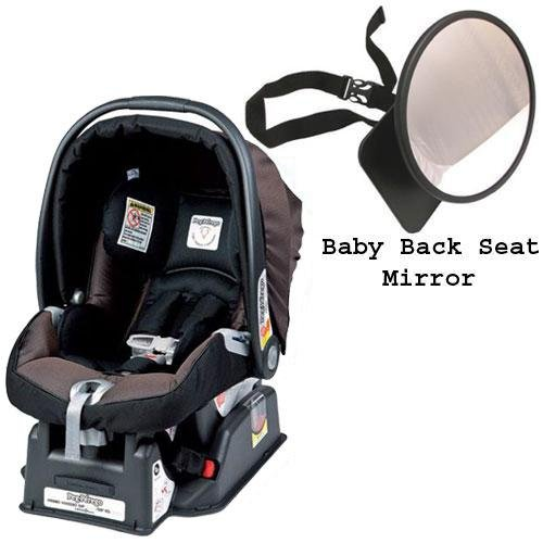 Peg Perego Primo Viaggio sip 30 30 Car Seat w Back Seat Mirror - Newmoon