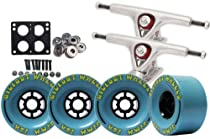 Paris 180 LONGBOARD TRUCKS Package 97mm BIGFOOT Wheels