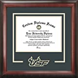 University of South Florida Bulls - College Logo - Spirit Mat Cutout - Diploma Frame