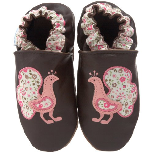 Robeez Soft Soles Kids' Paisley Peacock Crib Shoe