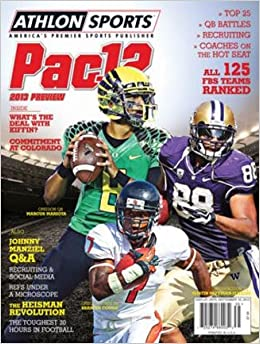 Athlon Sports 2013 College Football Pac 12 Preview Magazine