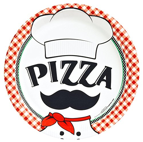Itzza Pizza Party - Dinner Plates (8)