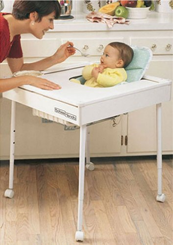 Babee Tenda Safety Feeding Table (Blue) Review