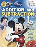 Disney Pixar Addition and Subtraction 32 Page Workbook Learn Basic Math Skills with Disney Characters