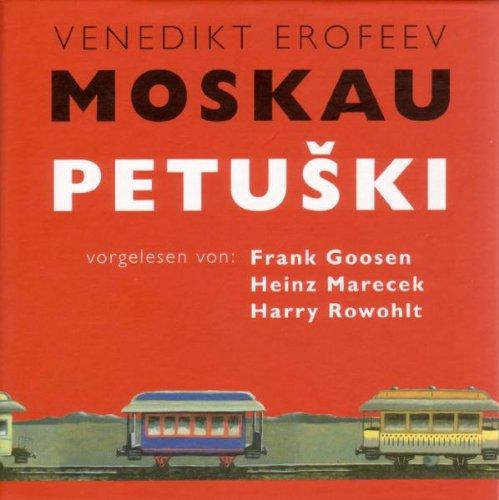 Moskau - Petuski 5 CDs: Ein Poem