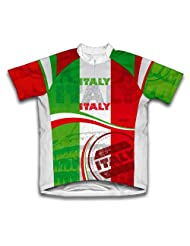 Italia Short Sleeve Cycling Jersey for Women