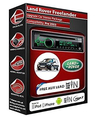 Landrover Freelander kit Autoradio CD/MP3 avec entrée auxiliaire pour Clarion