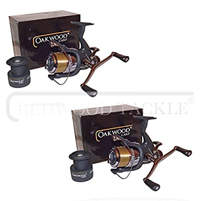 Carp Pike Coarse Fishing Baitrunner Reels With 10LB Loaded Line X 2 from redwoodtackle
