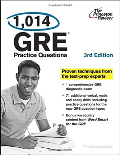 1 014 gre practice questions 3rd edition