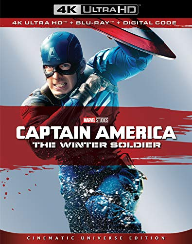 4K Blu-ray : Captain America: Winter Soldier (2 Discos)