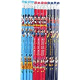 Disney Mickey Mouse and Friends 12 Wood Pencils Pack