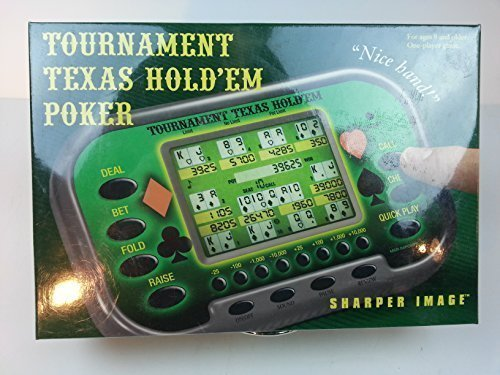 texas-holdem-tournament-poker-electronic-game-by-the-sharper-image
