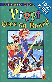 Thorough book review of Pippi Goes on Board by Astrid Lindgren ~ What My Kids Read