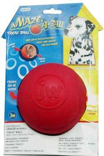 JW Pet Company Treat Puzzler Dog Toy, Large (Colors Vary)