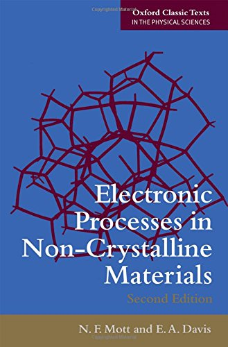 Electronic Processes in Non-Crystalline Materials (Oxford Classic Texts in the Physical Sciences)