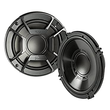 2) Polk Audio DB6502 6.5 300W 2 Way Car/Marine ATV Stereo Component Speakers