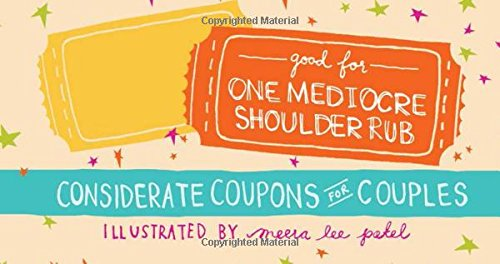 Considerate Coupons for Couples - humorous coupon book