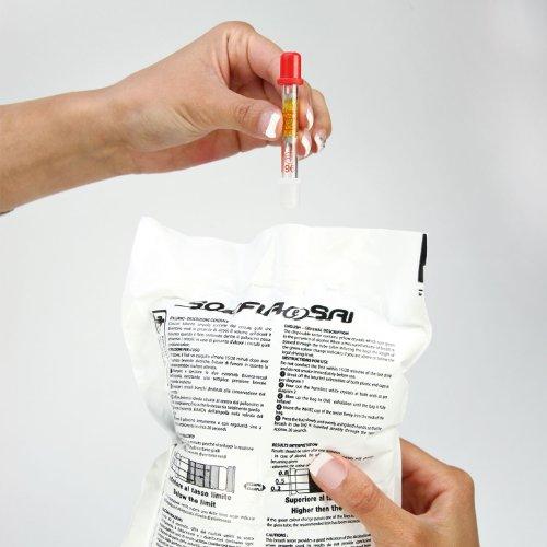 Cartrend 70360 Lot de 3 alcootests certifiés NF (NF X 20-702)
