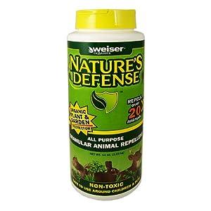 Bird-X Nature's Defense Organic All Animal Repellent, 44-Ounce