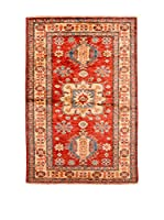 Navaei & Co. Alfombra Kazak Super Rojo/Multicolor 139 x 90 cm