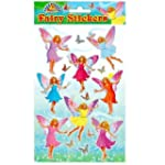 12 x Fairy Sticker sheets ~ Party Loo...