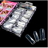 Taylor P. Poly Gel UV LED Gel Curable Professional DIY (100 pc Dual Nail Forms) (Color: 100 pc Dual Forms)