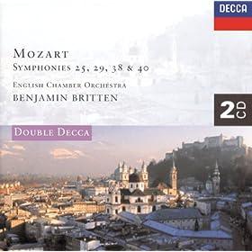 Mozart: Symphonies Nos. 25, 29, 38 & 40 etc. (2 CDs)