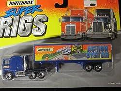 Kenworth Truck Action System Matchbox Super Rigs