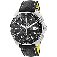 Tag Heuer Aquaracer Chronograph Black Dial Mens Watch