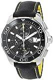 TAG Heuer Aquaracer Herren-Armbanduhr 43mm Armband Leinen Schwarz Schweizer Automatik CAY211A.FC6361