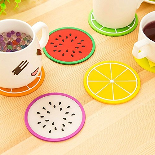 lariy-6x-fruit-coaster-mini-beverage-cup-mat-cushion-heat-insulation-coaster