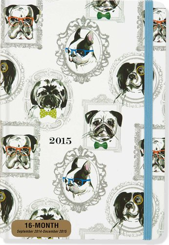 2015 Dog Weekly Planner (16-Month Engagement Calendar, Diary)