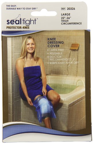 Seal Tight Protector for Knee Incision Protection, Best Watertight Seal, Large