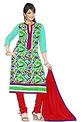 Athena Fashion Embrodaried Dress Material