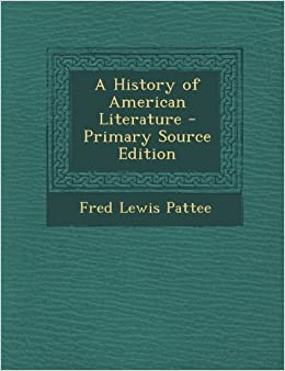 a history of american literature A brief history of the short story in america by admin | aug-27-2007 the development and rise of the american short story in the 19th century was the result of simple market forces.