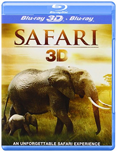 Safari 3D - REGION FREE - UK Import [Blu-ray 3D + Blu-ray] цена