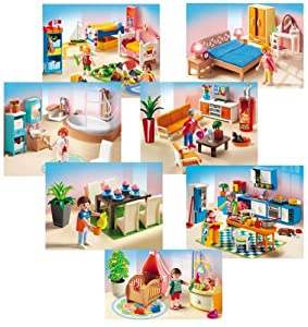 Playmobil 5329 5330 5331 5332 5333 5334 5335 set di for Playmobil esszimmer 5335