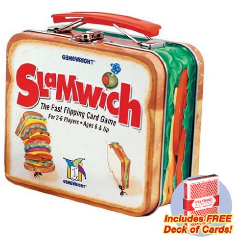 Slamwich Collector's Edition Tin card game with free deck of standard playing cards - 1